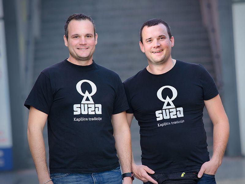 Tino i Borjan Suzić - osnivači Suza T.B.