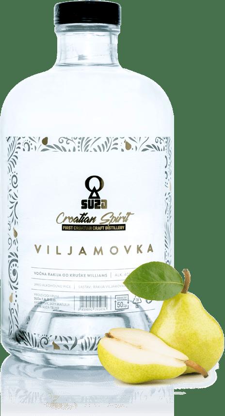 Viljamovka - Rakija od najkvalitetnije kruške Vilijams - 0.7L - Suza-T.B.
